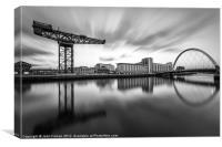 Scotland Finnieston Crane Glasgow, Canvas Print