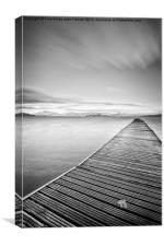 The Jetty, Canvas Print