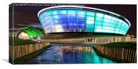 The Hydro and SECC Colour, Canvas Print