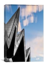 Glasgow Riverside Museum, Canvas Print