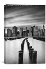 Lower Manhattan, Canvas Print