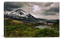 Errigal, Donegal, Ireland, Canvas Print