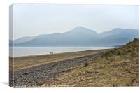 Mourne Mountains, Newcastle, Co Down, Canvas Print
