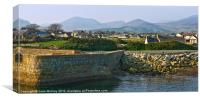 Mourne Mountains from Annalong, Canvas Print