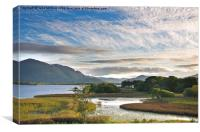 Evening in Killarney, Canvas Print