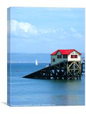 Swansea Bay Lifeboat station, Canvas Print