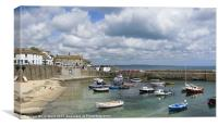 Mousehole Harbour, Canvas Print