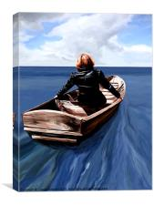 Lady of the Sea, Canvas Print