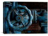 wheels of industry, Canvas Print