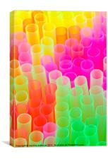 everyday colours, Canvas Print