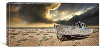 colour at dungeness, Canvas Print