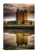 Broughty Castle, Canvas Print