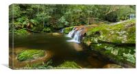 A Parallel View - Somesby Falls, Canvas Print