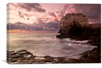 The Cove at Pulpit, Canvas Print