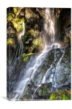 Little Thornton Force, Canvas Print