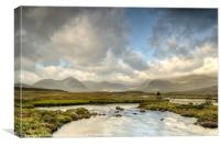 Rannoch Moor Sunshine, Canvas Print