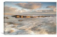 Holy Island Ledge, Canvas Print