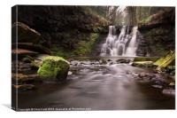 Goitstock Waterfall, Canvas Print