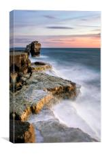 Sunset at Pulpit Rock, Canvas Print