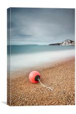 Worbarrow Bay Buoy, Canvas Print