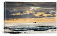 Beadnell Bay, Canvas Print