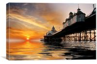 Eastbourne Pier Sunrise, Canvas Print