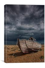 Stormy Dungeness, Canvas Print