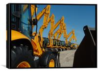 JCB Parade, Canvas Print