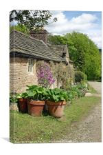 Nice Country Cottage, Canvas Print