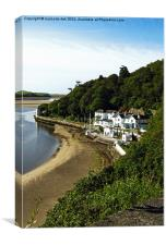 HOTEL AT PORTMEIRION (Y Gwesty)), Canvas Print