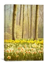 A Spring Day, Canvas Print