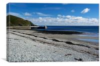 At Laxey, Canvas Print