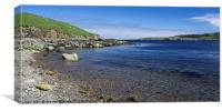 East Lunna Voe, Canvas Print