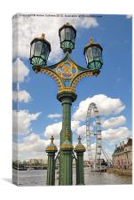 FROM WESTMINSTER BRIDGE, Canvas Print