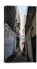 ALLEY & CENTREPOINT, Canvas Print