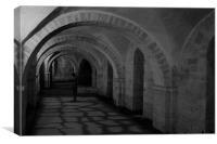 Winchester Cathedral, Canvas Print