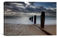 Sea View over the Solent, Canvas Print