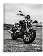 Triumph rocket 3, Canvas Print