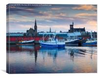 Fraserburgh, Home From The Sea, Canvas Print