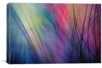 Tropical Feather Abstract, Canvas Print