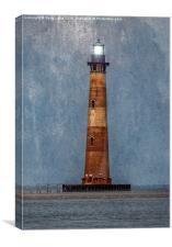 Morris Island Lighthouse, Canvas Print
