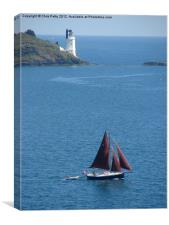 St Anthony`s Head, Cornwall, Lighthouse, Canvas Print