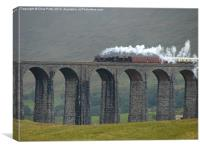 Ribblehead Viaduct, Settle and Carlisle, Canvas Print