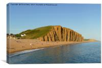 West Bay, Dorset, Canvas Print