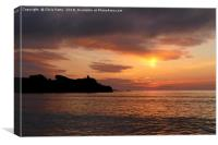 Sunset, St Ives, Cornwall, Canvas Print