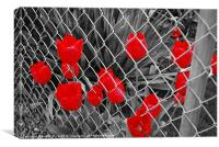 don't fence me in, Canvas Print