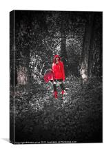 red, Canvas Print