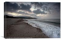 Moody Bowleaze Cove, Canvas Print