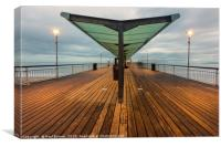 Bournemouth Pier in Winter, Canvas Print