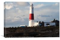 Portland Bill in Winter at Sunrise, Canvas Print
